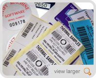 Barcodes & Serial numbers
